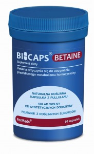 BICAPS BETAINE 60 kaps. ForMeds Betaina
