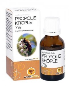 Propolis Krople 7% 20 ml FARMINA
