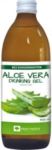 Aloe Vera Drinking gel sok z aloesu 500 ml AlterMedica /ALOES